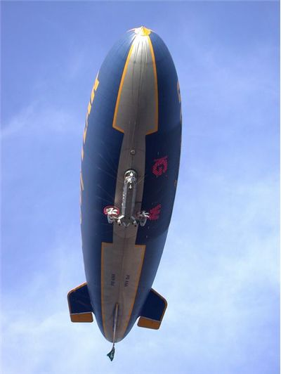 Picture of Goodyear Blimp Balloon Zeppelin