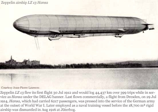 Picture of LZ 13 - Hansa Zeppelin