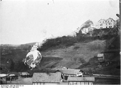 Picture of Zeppelin LZ 5 Accident