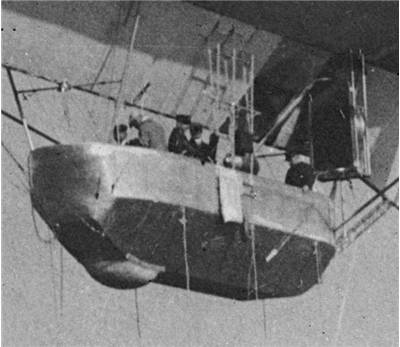Picture of Forward Command Gondola of Zeppelin LZ 7