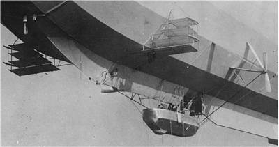 Front of Zeppelin LZ 7